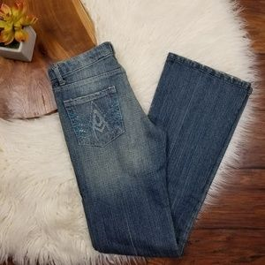 7 For All Mankind Rhinestone A Pocket Jeans (SN150